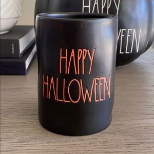"Rae Dunn ""Happy Halloween"" Candle in Pumpkin Spice"